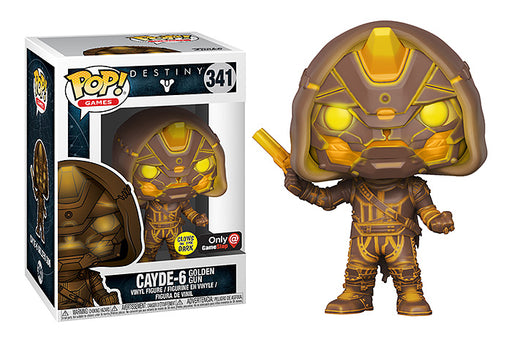 Funko POP! Destiny 2 - Cayde-6 with Golden Gun Vinyl Figure #341 Gamestop Exclusive (NOT 100% MINT)