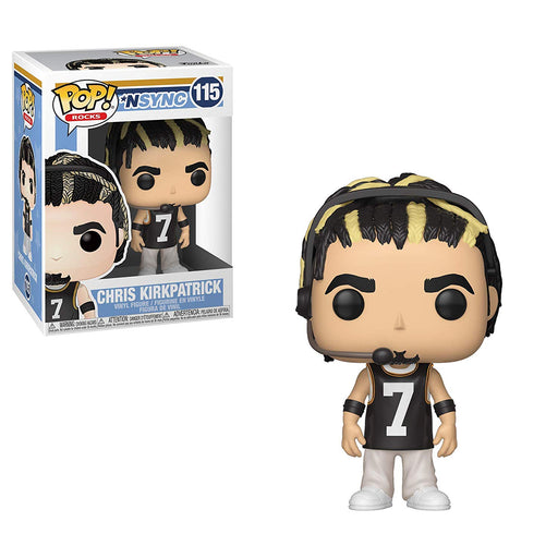 Funko POP! Rocks: *NSYNC - Chris Kirkpatrick Figure #115