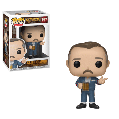 Funko POP! Cheers - Cliff Clavin Vinyl Figure #797