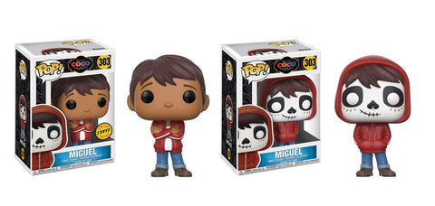 Funko POP! COCO - Miguel Common and Chase Bundle Set #303