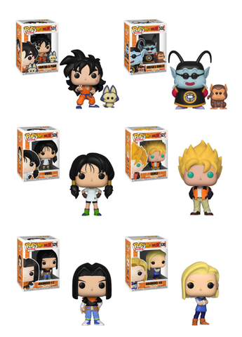[PRE-ORDER] Funko POP! Dragon Ball Z - Complete Set of 6