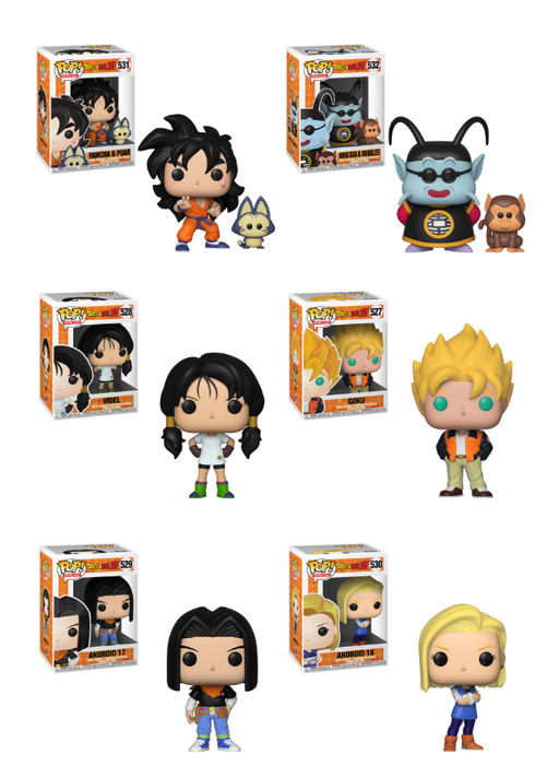 Funko POP! Dragon Ball Z - Complete Set of 6