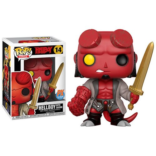 Funko POP! Hellboy - Hellboy with Excalibur Vinyl Figure Previews Exclusives (PX) #14