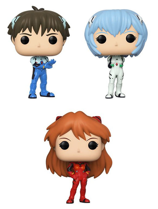 [PRE-ORDER] Funko POP! Evangelion - Set of 3