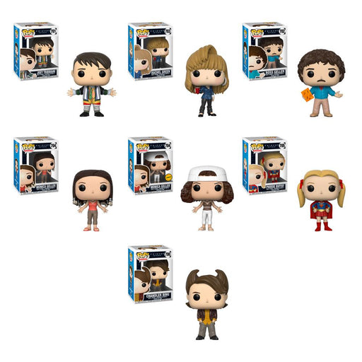 Funko POP! Friends - Complete Set of 7 Chase Included
