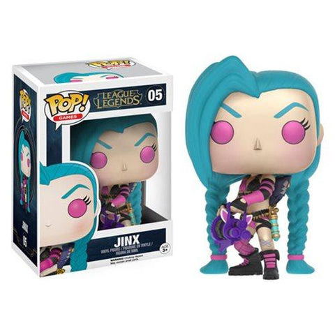 [PRE-ORDER] Funko POP! League of Legends - Jinx Vinyl Figure #05