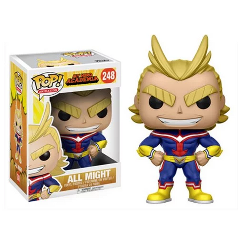 Funko POP! My Hero Academia - All Might Vinyl Figure #248