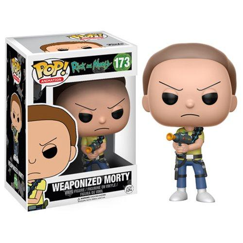 Funko POP! Rick and Morty - Weaponized Morty Vinyl Figure #173