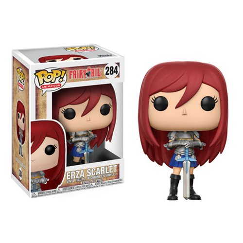 Funko POP! Fairy Tail - Erza Vinyl Figure #284