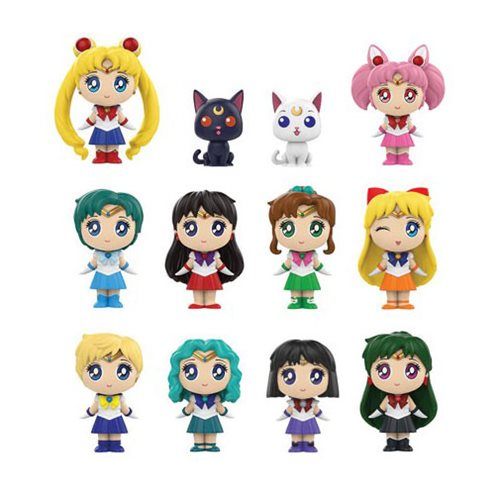 Funko Mystery Minis: Sailor Moon Mystery Minis - Case of 12