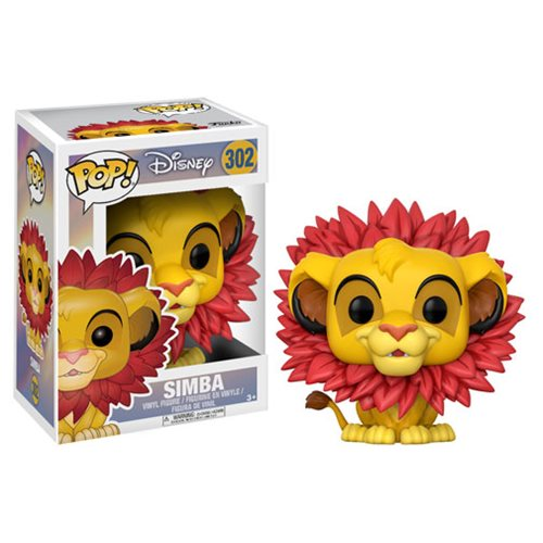 Funko POP! Lion King - Simba Leaf Mane Vinyl Figure #302