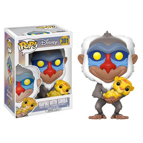 Funko POP! The Lion King - Rafiki with Simba Vinyl Figure #301