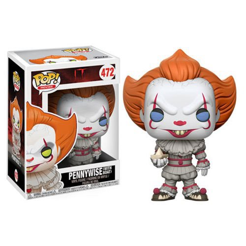 Funko POP! Stephen King's IT - Pennywise Clown with Boat Vinyl Figure #472