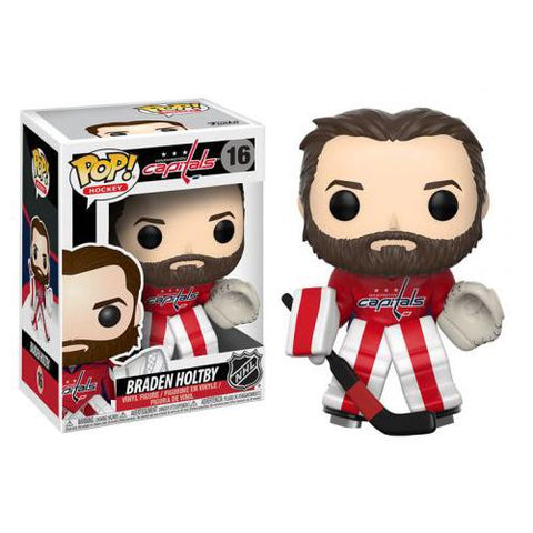 Funko POP! NHL Stars - Braden Holtby Vinyl Figure (Washington Capitals) #16