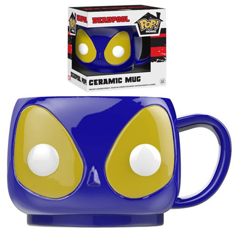 Funko POP! Home: Deadpool - Deadpool Evil Blue Suit 12 oz Ceramic Mug