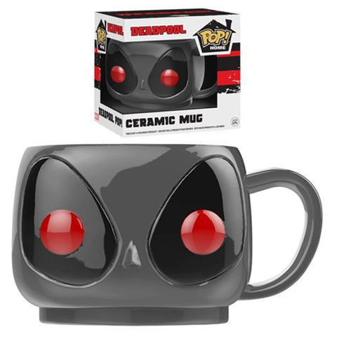 Funko POP! Home: Deadpool - Deadpool Gray X-Force Suit 12 oz Ceramic Mug