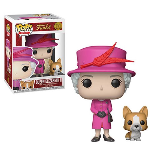 Funko POP! Royals - Queen Elizabeth II Vinyl Figure #01