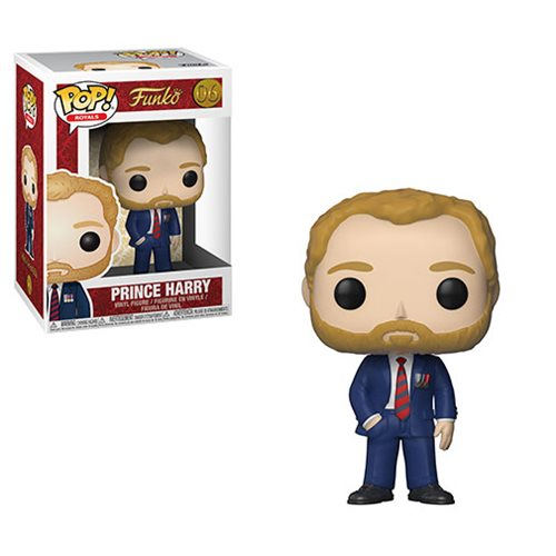 Funko POP! Royals - Prince Harry Vinyl Figure #06