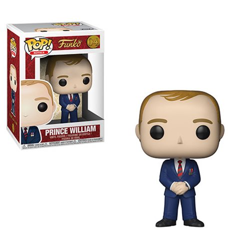 Funko POP! Royals - Prince William Vinyl Figure #04
