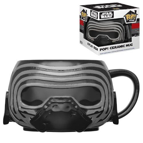 Funko POP! Home - Star Wars The Last Jedi Kylo Ren Ceramic Mug 12 oz
