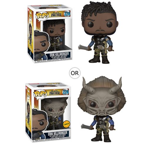 Funko POP! Marvel Black Panther - Erik Killmonger Vinyl Figure #278
