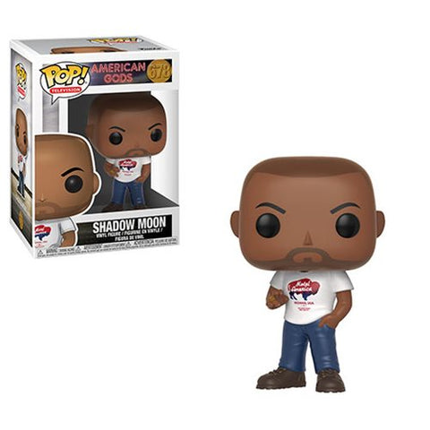 [PRE-ORDER] Funko POP! American Gods - Shadow Moon Vinyl Figure #678