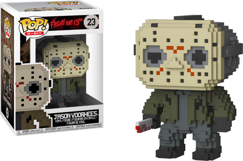 Funko POP! Friday the 13th - 8-Bit Jason Voorhees Vinyl Figure #23