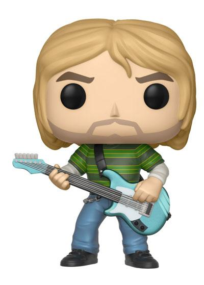 Funko POP! Music - Kurt Cobain in Striped Shirt Vinyl Figure