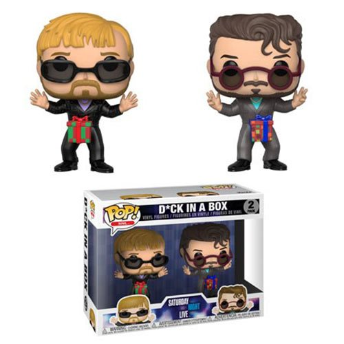 Funko POP! Saturday Night Live (SNL) - D*ck in a Box 2-Pack Vinyl Figure