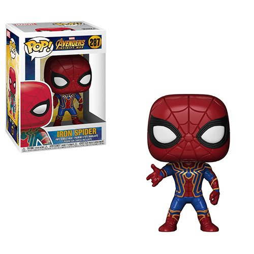 Funko POP! Avengers: Infinity War - Iron Spider Vinyl Figure #287