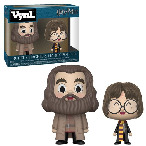 Funko VYNL: Harry Potter - Rubeus Hagrid and Harry Potter Vinyl Figures