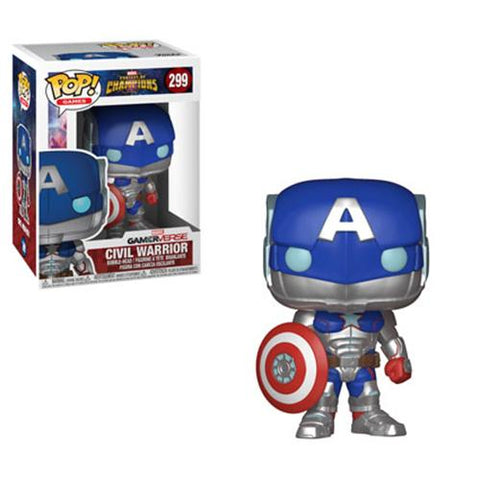 [PRE-ORDER] Funko POP! Marvel Contest of Champions - Civil Warrior #299