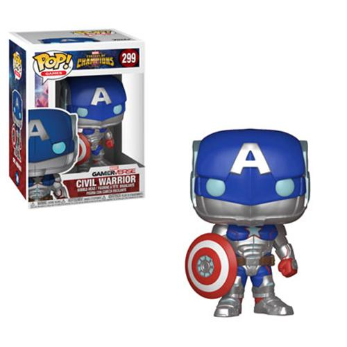 Funko POP! Marvel Contest of Champions - Civil Warrior #299