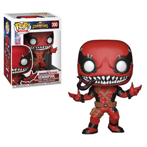 Funko POP! Marvel Contest of Champions - Venompool Vinyl Figure #300