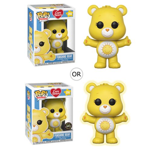 Funko POP! Care Bears - Funshine Bear Vinyl Figure #356