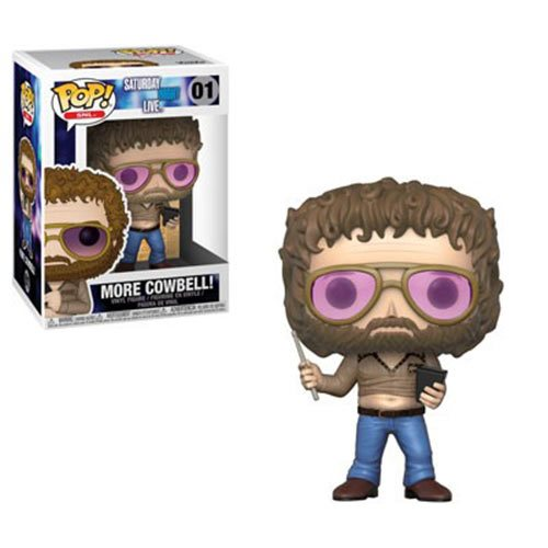 "Funko POP! Saturday Night Live (SNL) - Gene Frenkle ""More Cowbell"" Vinyl Figure #01"