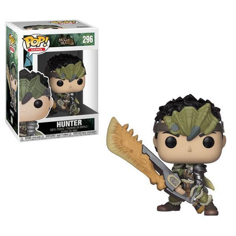 [PRE-ORDER] Funko POP! Monster Hunter - Hunter Vinyl Figure #296