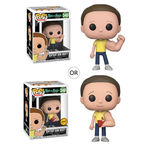 Funko POP! Rick and Morty - Sentinent Arm Morty Vinyl Figure #340