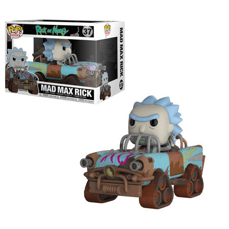 Funko POP! Rides Rick and Morty - Mad Max Rick Vehicle Vinyl Figure #37