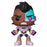 Funko POP! Teen Titans Go! The Night Begins to Shine - Cyborg Vinyl Figure #605