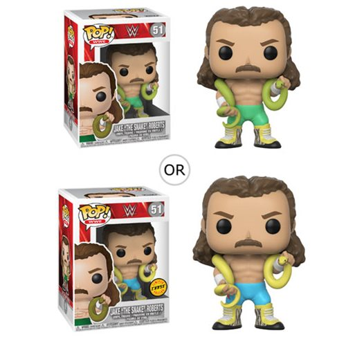 Funko POP! WWE - Jake the Snake Vinyl Figure #51