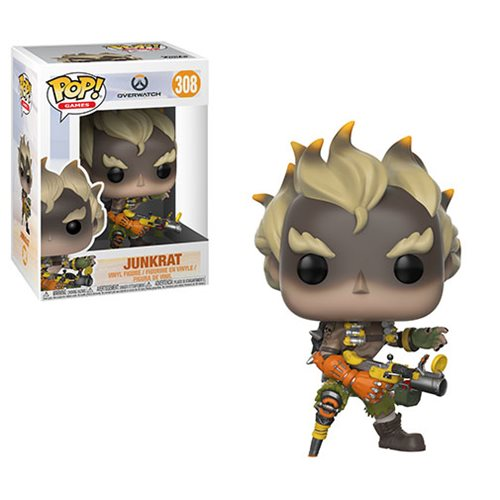 Funko POP! Overwatch - Junkrat Vinyl Figure #308
