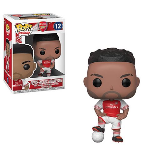Funko POP! Soccer (Football): Arsenal - Pierre-Emerick Aubameyang Vinyl Figure #12