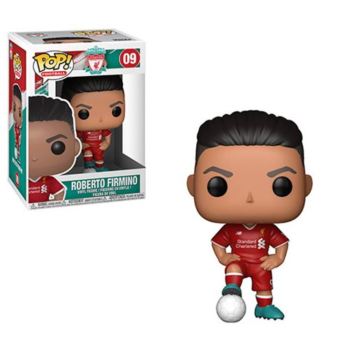 Funko POP! Soccer (Football): Liverpool - Roberto Firmino Vinyl Figure #09