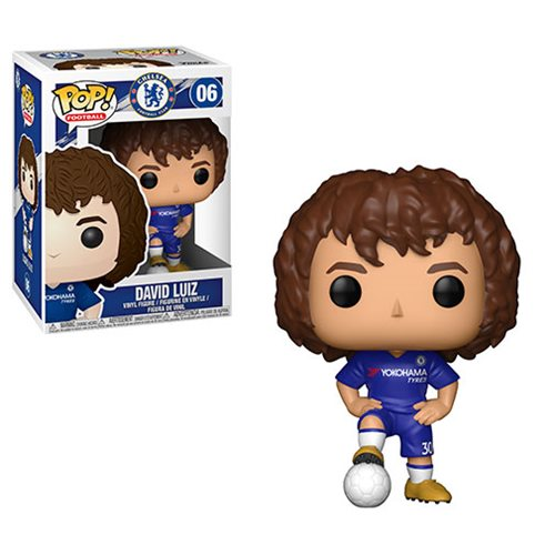 Funko POP! Soccer (Football): Chelsea - David Luiz Vinyl Figure #06