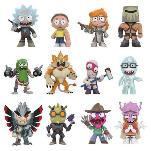 Funko Mystery Minis: Rick and Morty Series 2 Minis