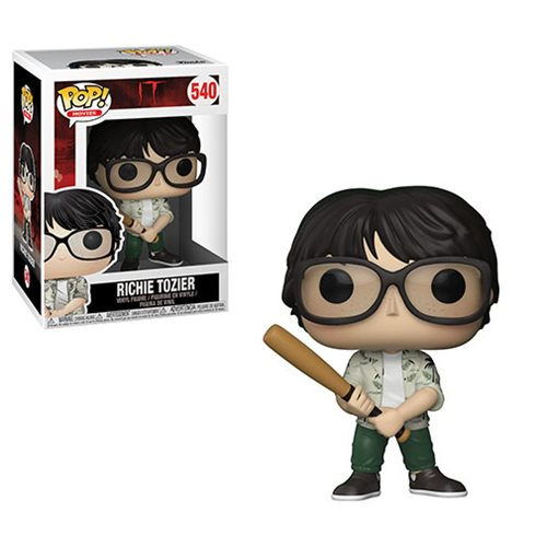 Funko POP! Stephen King's IT - Richie Tozier with Bat Vinyl Figure #540