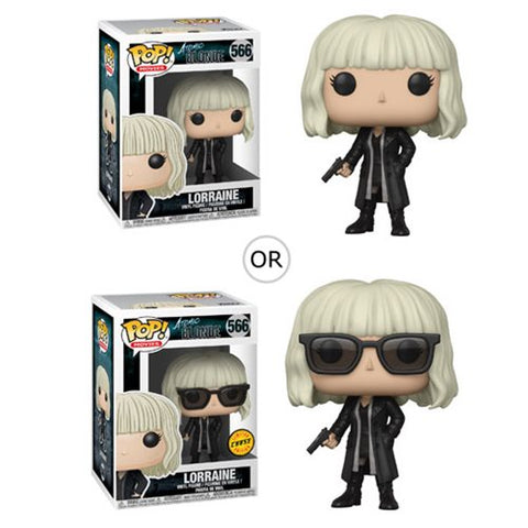 Funko POP! Atomic Blonde - Lorraine Broughton with Gun Vinyl Figure #566