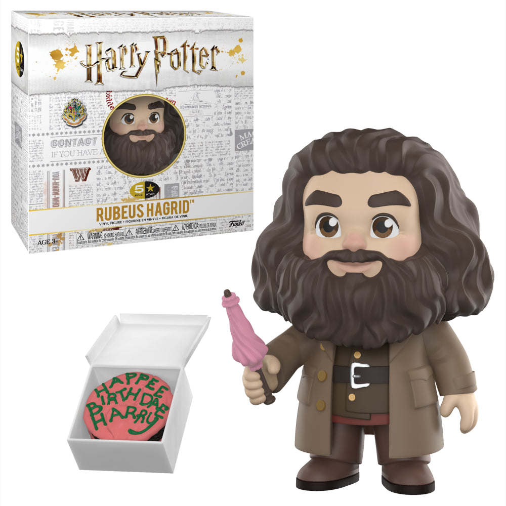 Funko 5 Star: Harry Potter - Rubeus Hagrid Vinyl Figure