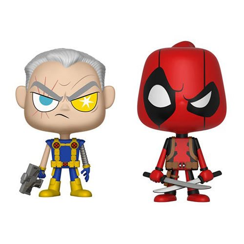 Funko VYNL: Deadpool - Deadpool and Cable Vinyl Figures